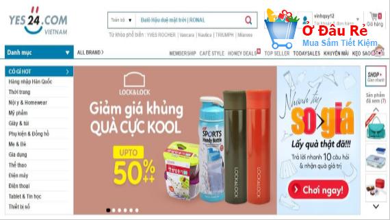 Mua hàng trên Yes24: Đây là địa chỉ bán nhiều mặt hàng NK Hàn Quốc