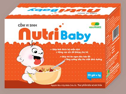Cốm vi sinh Nutri Baby Plus, Không Còn Nỗi Lo Trẻ Biếng Ăn Thiếu Chất